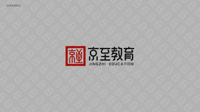 京至教育公司LOGO设计入围方案0