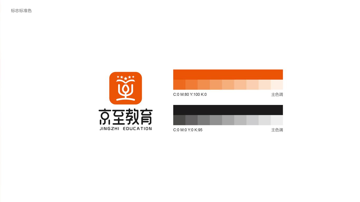 京至教育公司LOGO設計中標圖3
