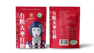 華糖食品品牌包裝設計