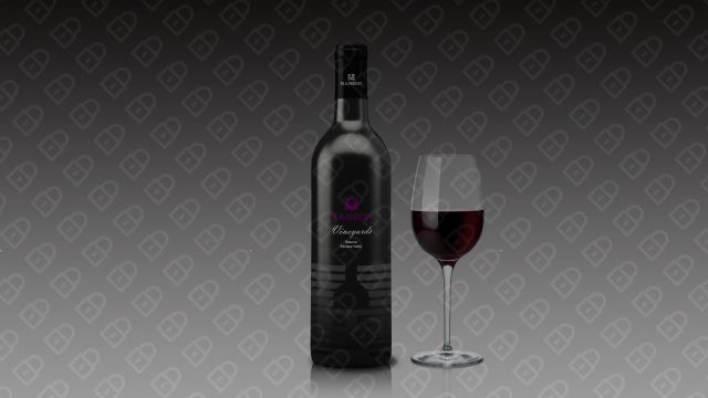 HANSON红酒品牌包装设计入围方案8