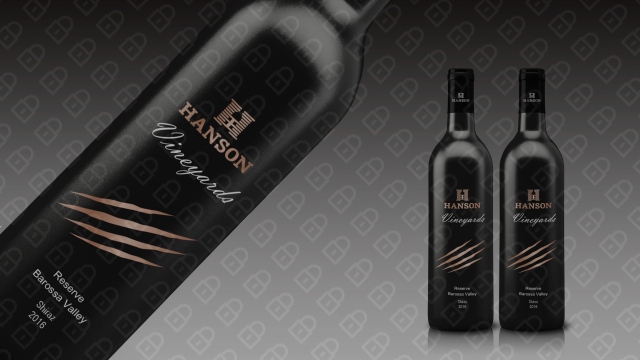 HANSON红酒品牌包装设计入围方案7