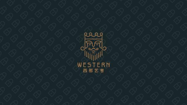 西部藝考公司LOGO設計入圍方案1