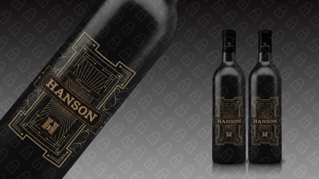 HANSON红酒品牌包装设计入围方案10