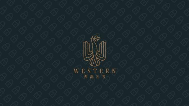 西部藝考公司LOGO設計入圍方案2