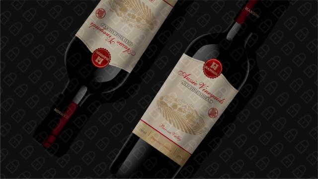 HANSON红酒品牌包装设计入围方案5