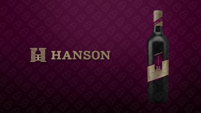 HANSON红酒品牌包装设计入围方案6