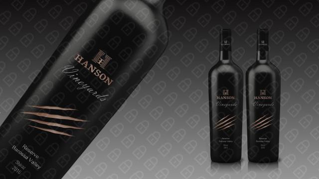 HANSON红酒品牌包装设计入围方案11