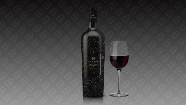 HANSON红酒品牌包装设计入围方案13
