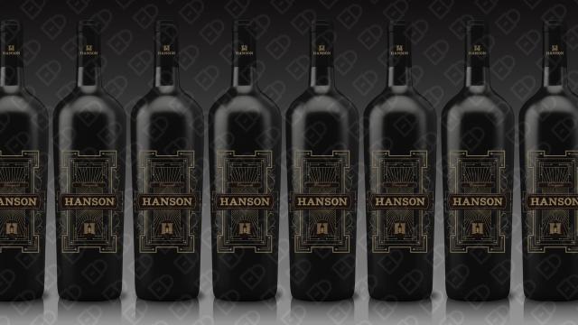 HANSON红酒品牌包装设计入围方案14