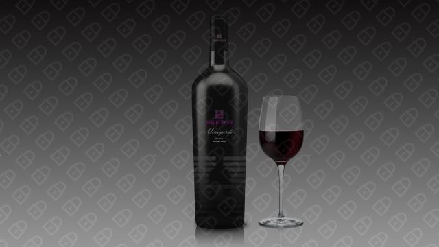 HANSON红酒品牌包装设计入围方案12