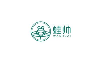 蛙帅 logo设计