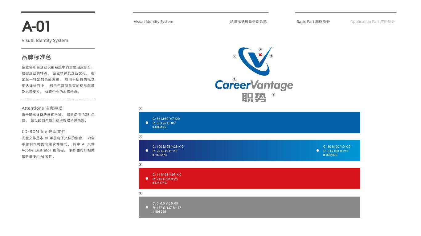 职势教育科技公司VI设计中标图2