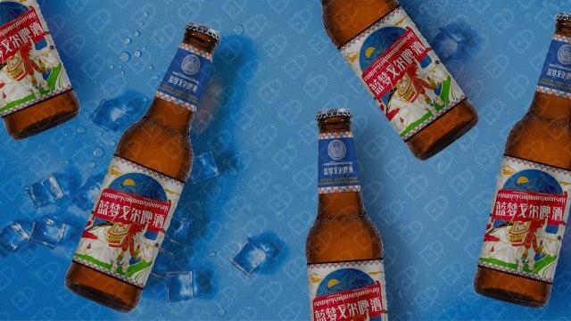 藍夢戈爾啤酒品牌包裝設計入圍方案4