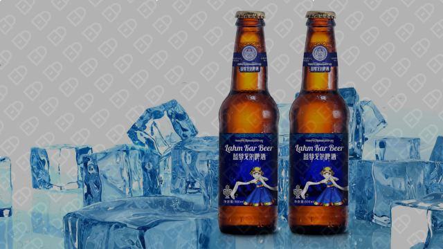 藍夢戈爾啤酒品牌包裝設計入圍方案7