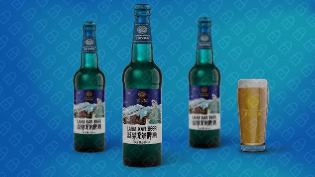 藍夢戈爾啤酒品牌包裝設計入圍方案2