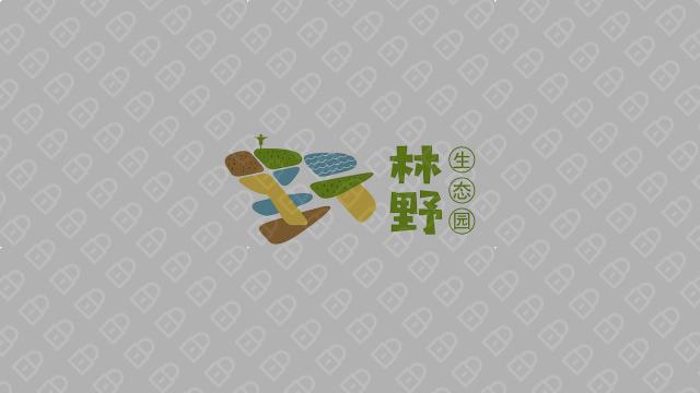 林野生态种植观光园公司LOGO乐天堂fun88备用网站入围方案6