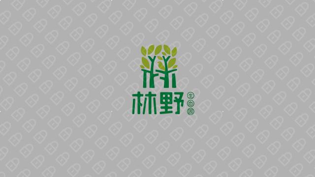 林野生态种植观光园公司LOGO设计入围方案3