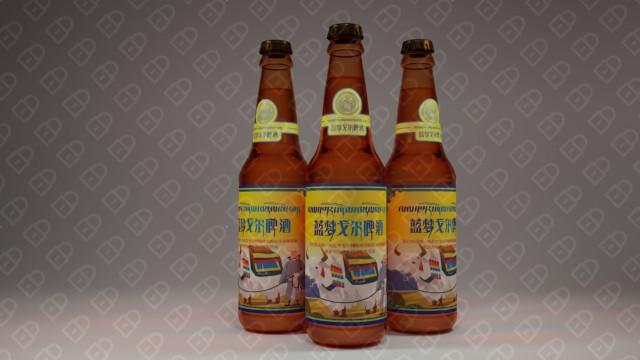 藍夢戈爾啤酒品牌包裝設計入圍方案1