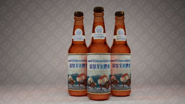 藍夢戈爾啤酒品牌包裝設計入圍方案0
