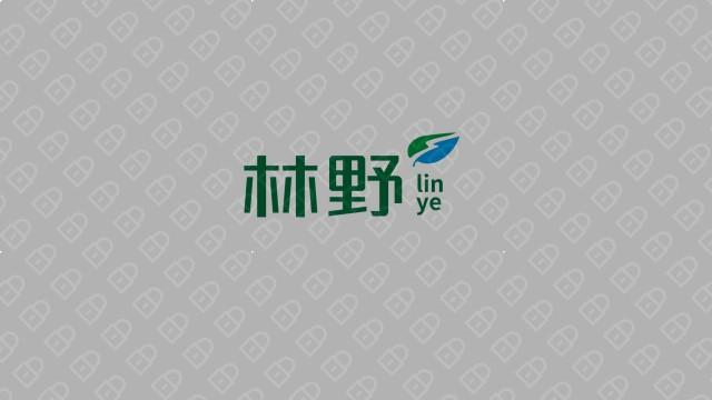 林野生态种植观光园公司LOGO设计入围方案8