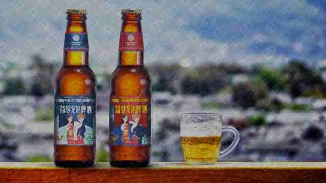 藍夢戈爾啤酒品牌包裝設計入圍方案5