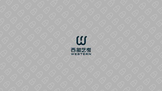 西部藝考公司LOGO設計入圍方案5