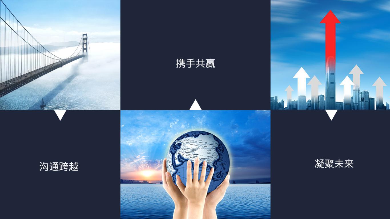 华渡资本公司LOGO设计中标图1