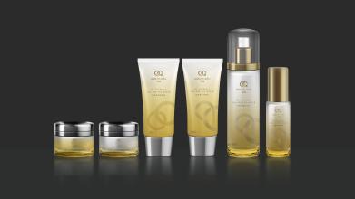 鯤魚護膚品牌LOGO設計