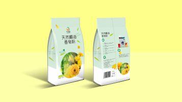 竹菊日化品牌包装设计
