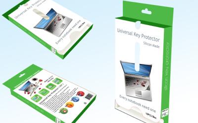 电脑保护膜包装设计