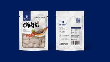 鮮凈捕手豬肉丸品牌包裝設計