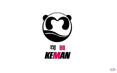 可曼饮品logo设计