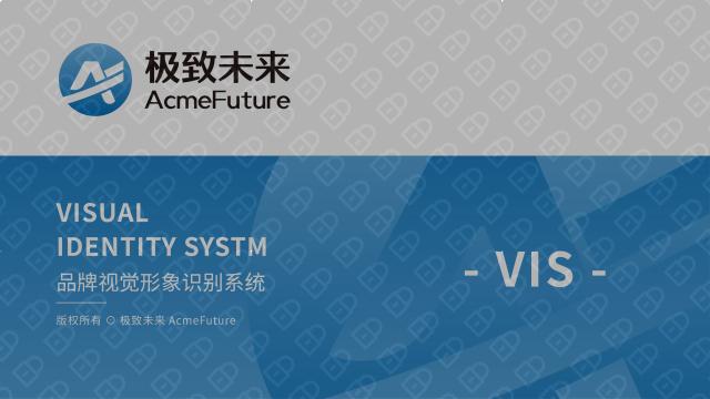 极致未来教育公司VI设计入围方案0