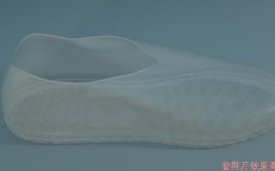 雨鞋套外观设计