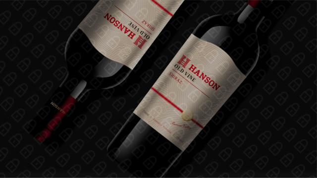 HANSON红酒品牌包装设计入围方案15