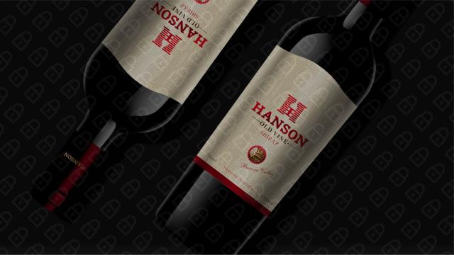HANSON红酒品牌包装设计入围方案17
