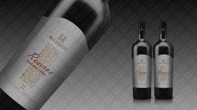 HANSON红酒品牌包装设计入围方案19