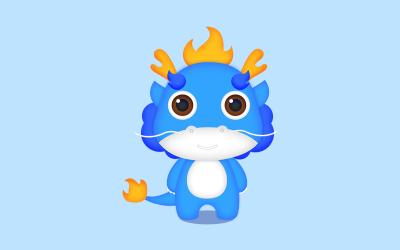 海小柒吉祥物设计