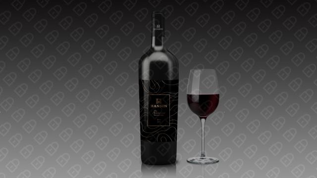 HANSON红酒品牌包装设计入围方案18