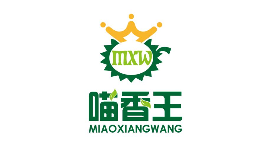 喵香王果品品牌LOGO设计
