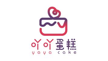 吖吖蛋糕LOGO设计