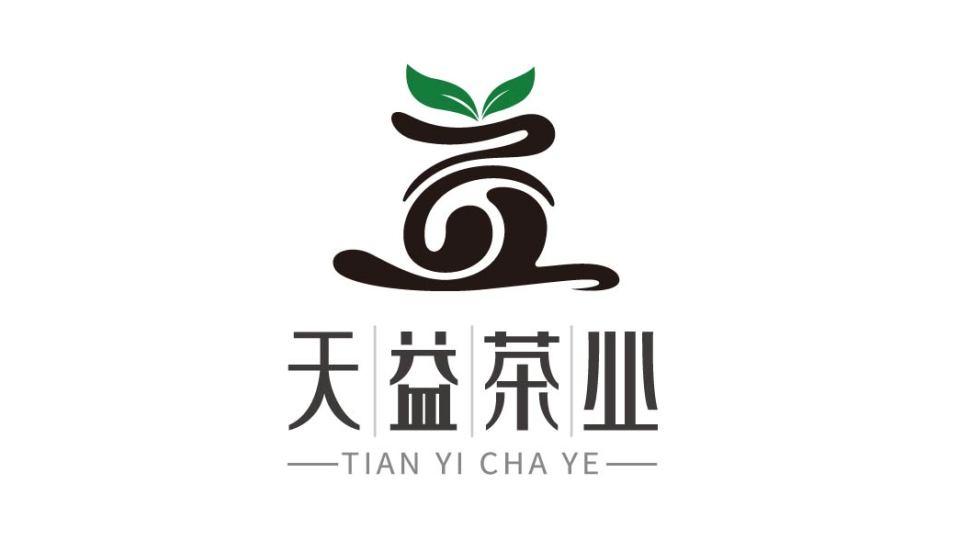 天益茶業品牌LOGO設計