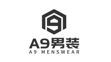 A9+男裝品牌LOGO設計