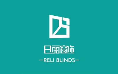 日麗窗飾logo設計
