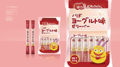 NOLIDO酸奶果冻条食品品牌包装亚博客服电话多少