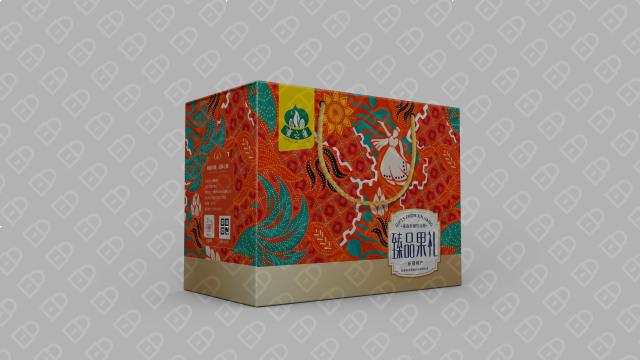蜜之番食品品牌包裝設計入圍方案0