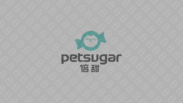 PetSugar倍甜宠物品牌LOGO必赢体育官方app入围方案0