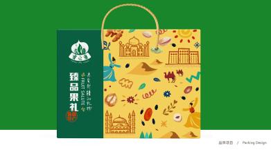 蜜之番新疆干果品牌包装设计