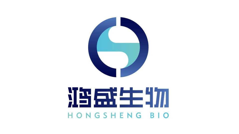 鸿盛生物公司LOGO设计