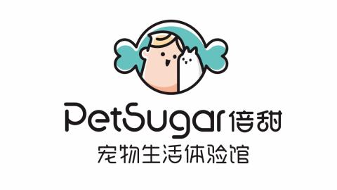 PetSugar倍甜寵物生活品牌LOGO設計